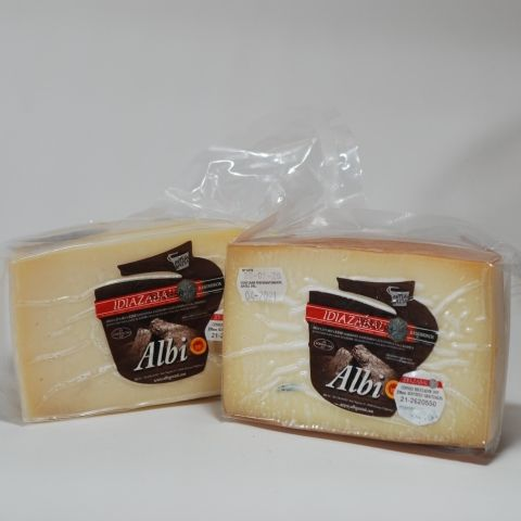 QUESO OVEJA NATURAL MEDIO 680 GR ALBI