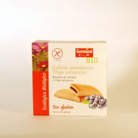 GALLETAS ARANDANO SARRACENO 200 GR GERMINAL