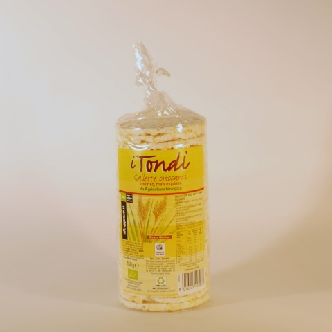 TORTITAS ARROZ 150 GR TONDI