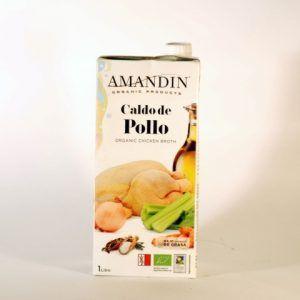 CALDO POLLO 1 L AMANDIN