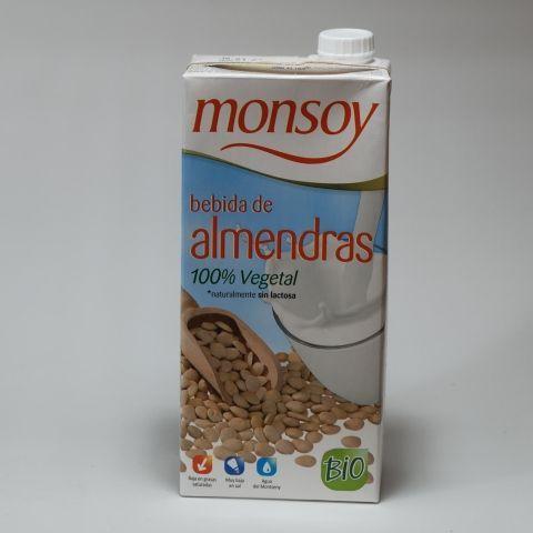BEBIDA ALMENDRA 1 L MONSOY
