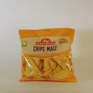 CHIPS MAIZ 75 GR NATURSOY