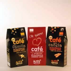 CAFE MOLIDO CON VAINILLA 125 GR ALTERNATIVA3