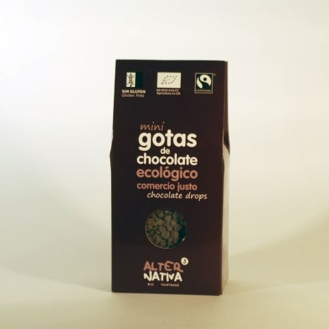 CHOCOLATE MINI GOTAS 225 GR ALTERNATIVA3
