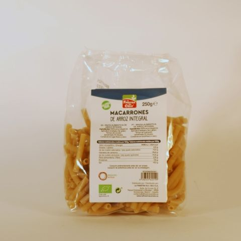 MACARRON ARROZ INTEGRAL 500 GR FINESTRA