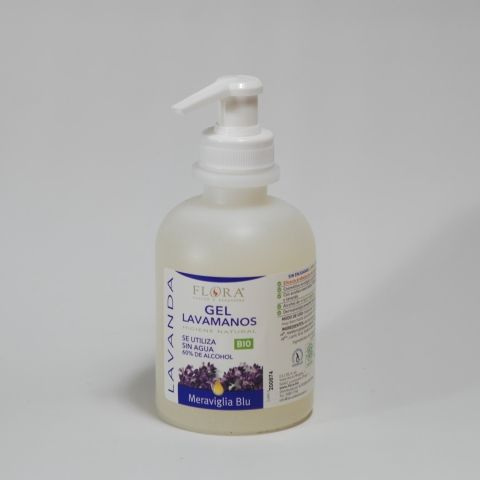 GEL DESINFECTANTE MANOS LAVANDA 250 ML FLORA