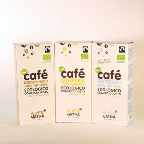 CAFE MOLIDO COLOMBIA 250 GR ALTERNATIVA3