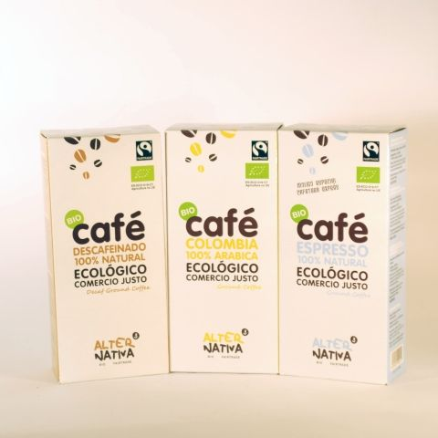 CAFE MOLIDO DESCAFEINADO 250 GR ALTERNATIVA3
