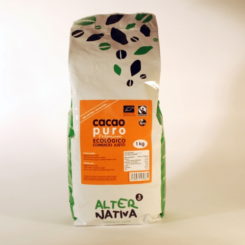 CACAO PURO 150 GR ALTERNATIVA3