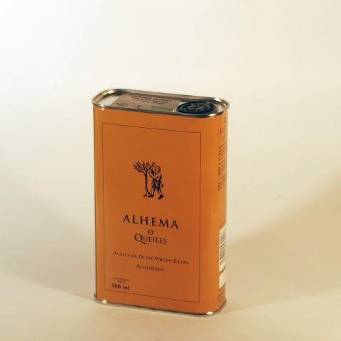 ACEITE OLIVA V.E LATA 500 ML ALHEMA DE QUEILES