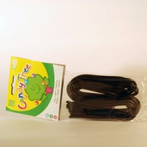 REGALIZ CORDONES 100 GR CANDY TREE